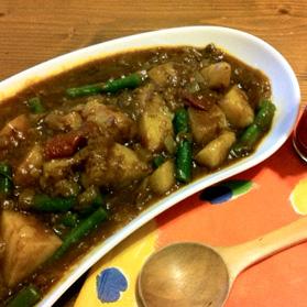 野菜のカレー煮