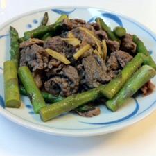 牛肉の生姜すき煮
